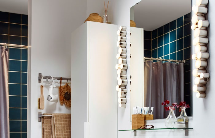 Elige los apliques de ba o ikea para iluminar tu lavabo for Apliques bano