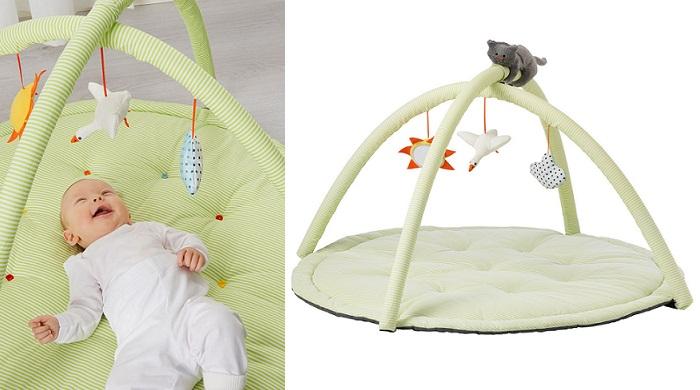 juguetes ikea para bebes gimnasio con arco