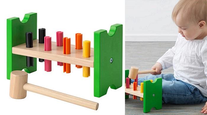 juguetes ikea para bebes martillo