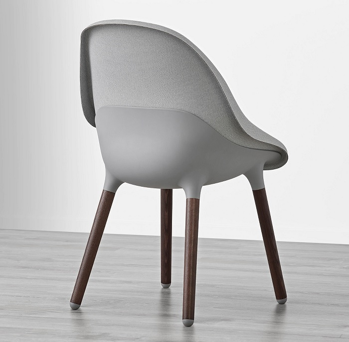 BALTSAR, las nuevas sillas de comedor Ikea nórdicas y tapizadas
