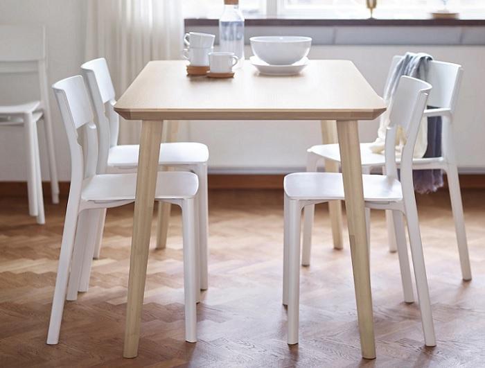 Guía con 6 mesas Ikea baratas para un comedor low-cost