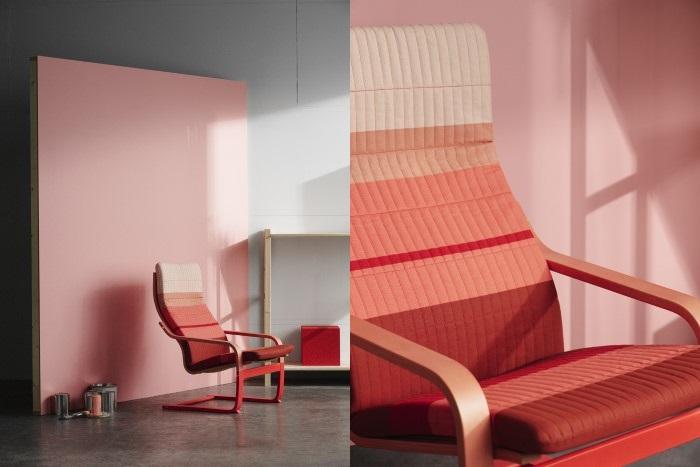 sillón poang renovado
