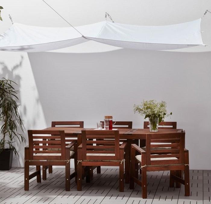 Toldo vela ikea dyning un accesorio imprescindible para el verano mueblesueco - Ikea jardin toldos roubaix ...