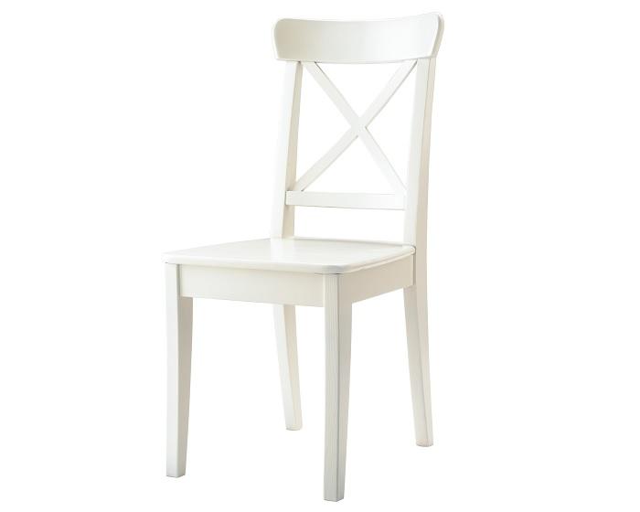 Da en el blanco con las sillas blancas ikea para tu cocina - Silla director ikea ...