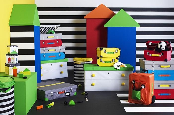 almacenamiento juguetes IKEA