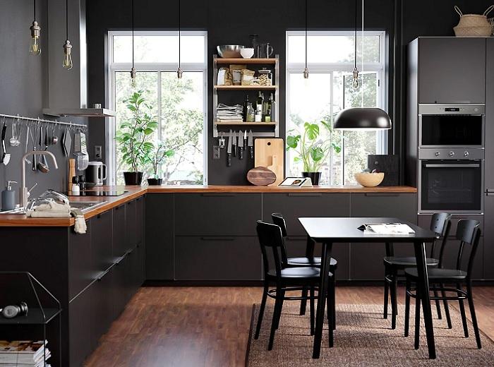 Las novedades en cocinas ikea 2019 del cat logo m s deseado for Cocina negra ikea