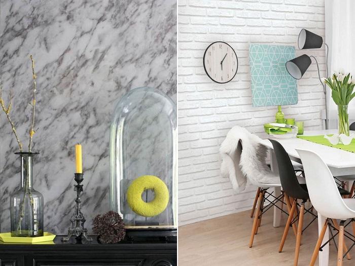 Ikea a qu esperas para incluir papel pintado en tu for Papel pintado para cocinas modernas