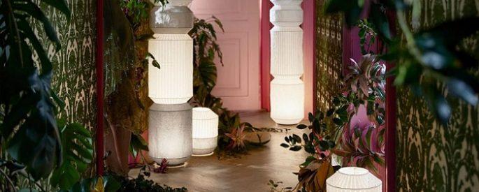 lamparas de papel ikea