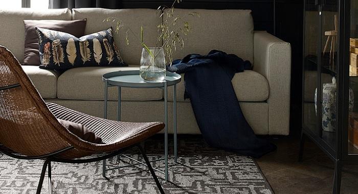 Las mejores alfombras baratas ikea para decorar tu sal n o comedor - Las mejores alfombras ...