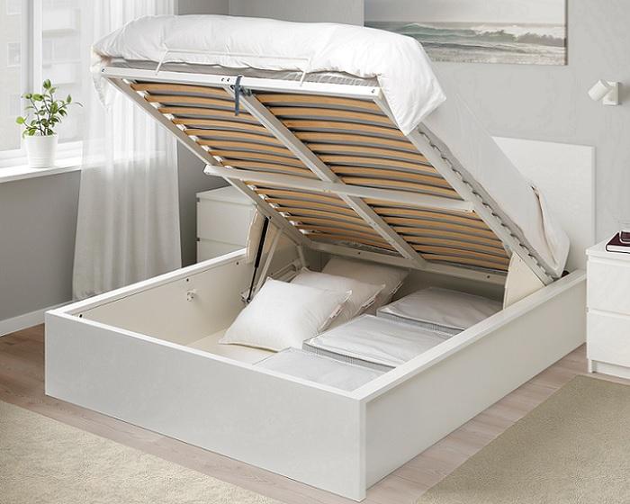 La cama malm ikea combina dise o moderno y un precio - Cama ikea malm ...