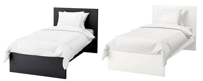 cama malm ikea individual