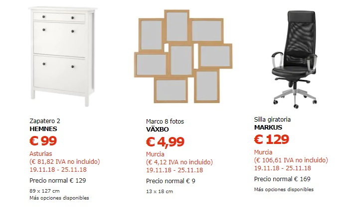 ikea black friday españa 2018