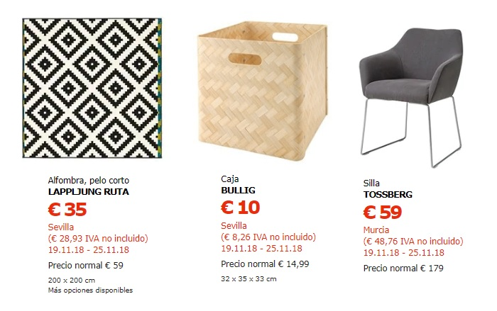 ikea black friday españa