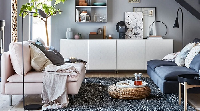 Elige tu aparador blanco Ikea para el comedor: HEMNES ...