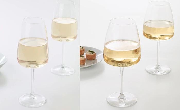 copas de vino ikea blanco tinto DYRGRIP