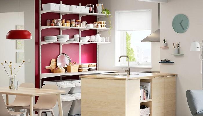 muebles auxiliares de cocina ikea ALGOT