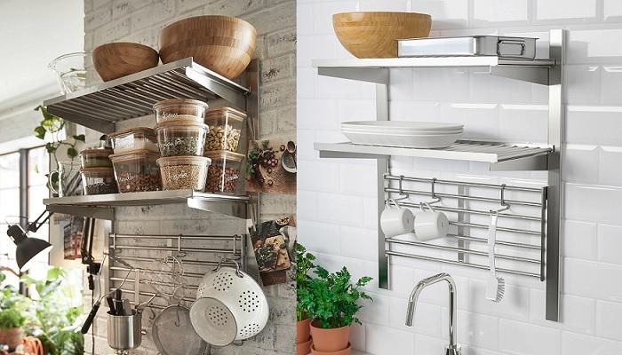 muebles auxiliares de cocina ikea almacenaje KUNGSFORS