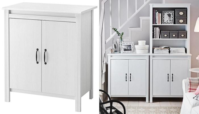 muebles auxiliares de cocina ikea armario BRUSALI