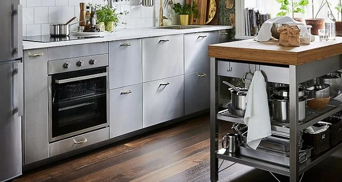 Muebles auxiliares de cocina ikea con soluciones de almacenaje - Ikea muebles de cocina ...