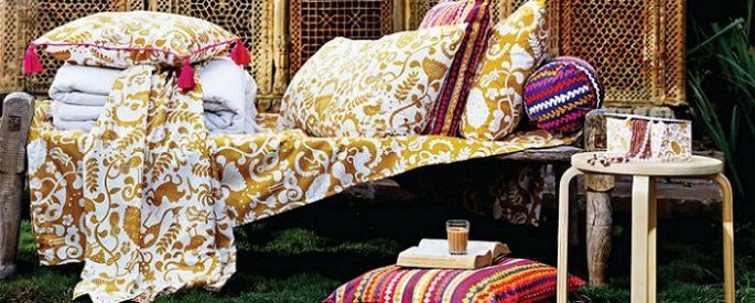 ursprunglig nuevos textiles de ikea con estampados de la india