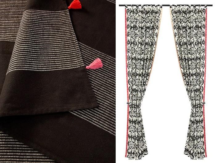 ursprunglig nuevos textiles ikea india cubre cama cortinas