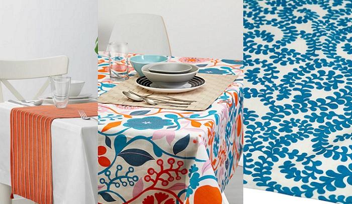 ursprunglig nuevos textiles ikea india manteles