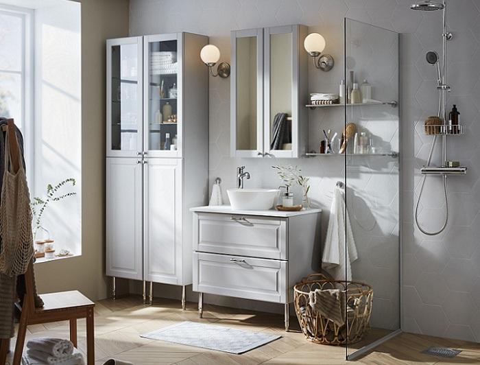 baños estilo nordico ikea