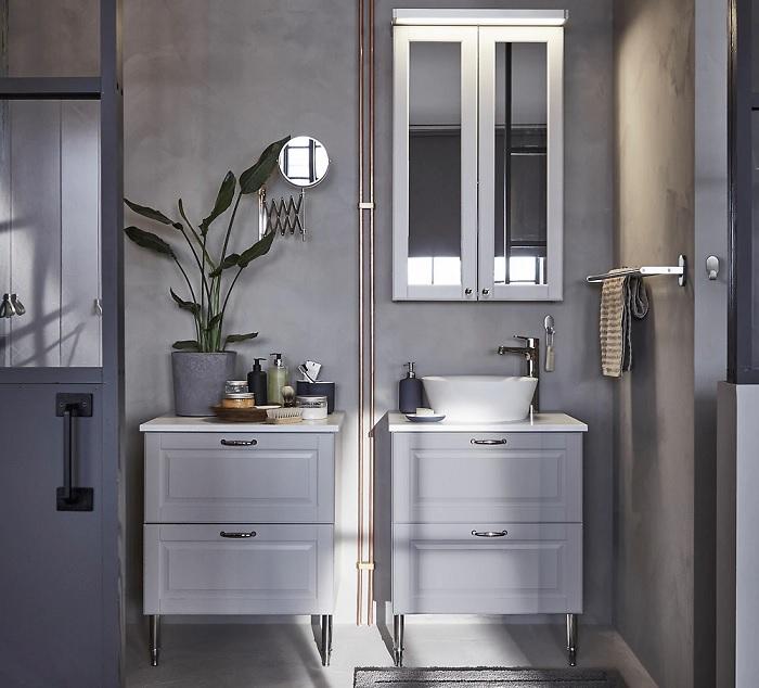 ikea baños estilo nordico