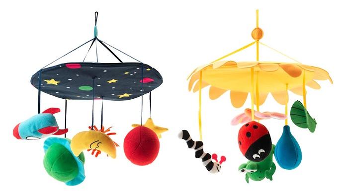 juguetes para bebes ikea moviles