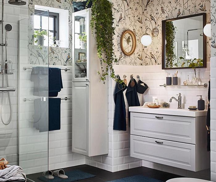 lavabos ikea baños estilo nordico