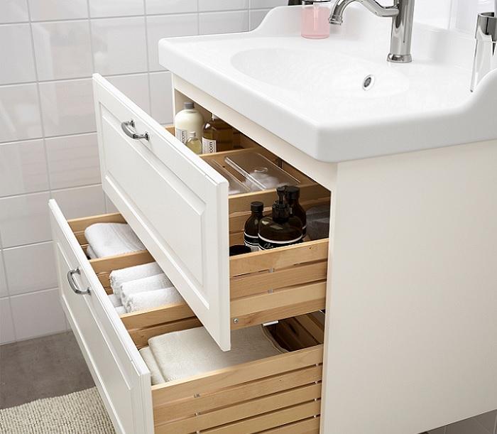 lavabos ikea baños nordico